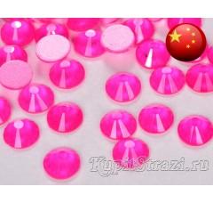 Стразы Neon rose ss20 - розовые неоновые китайские стразы холодной фиксации