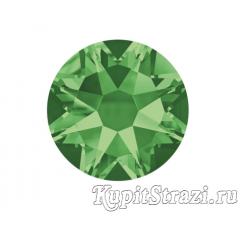 Термостразы Peridot ss16 огранки Xirius 2088 (звездочка) горячей фиксации - стеклянные китайские термо-стразы премиум качества