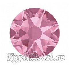 Термостразы Light Rose ss20 огранки Xirius 2088 (звездочка) горячей фиксации - стеклянные китайские стразы сапфир  премиум качества