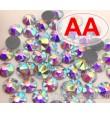 Термостразы Crystal AB ss20 качества АА огранки Xirius 2088 (звездочка) горячей фиксации - стеклянные китайские термо-стразы премиум качества