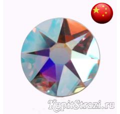 Термостразы Crystal AB ss16 огранки Xirius 2088 (звездочка) горячей фиксации - стеклянные китайские термо-стразы премиум качества