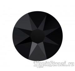 Стразы Jet (черные) ss16 огранки Xirius 2088 (звездочка) холодной фиксации - стеклянные китайские стразы премиум качества