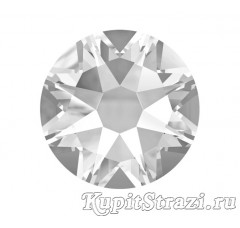 Термостразы Crystal ss16 огранки Xirius 2088 (звездочка) горячей фиксации - стеклянные китайские термо-стразы премиум качества