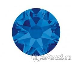 Стразы Capri blue ss16 огранки Xirius 2088 (звездочка) холодной фиксации - стеклянные китайские стразы премиум качества