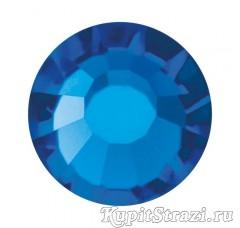 Купить китайские стразы холодной фиксации Capri blue ss16