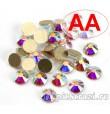 Стразы Crystal AB ss20 качества АА холодной фиксации - стеклянные китайские стразы премиум качества