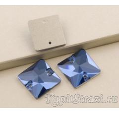 Квадрат Sapphire - 12 мм - Пришивные стразы из Китая