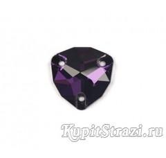 Триллиант Purple Velvet - 16 мм - Пришивные стразы из Китая треугольной формы