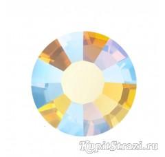 Стразы Light topaz AB ss20 - хрустальные корейские стразы премиум качества DMC+ Juwon