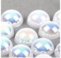 Полужемчуг белоснежный АВ диаметра - 4 мм, 5 мм, 6 мм, 8 мм  10 мм (полубусины белоснежные АБ)