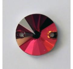 Круглые пришивные стразы Purple velvet - 12 мм