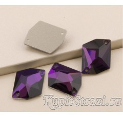 Пришивные стразы неправильной формы Purple Velvet - 17 мм