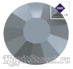 Стразы Jet Hematite ss16 - хрустальные корейские стразы премиум качества DMC+ Juwon