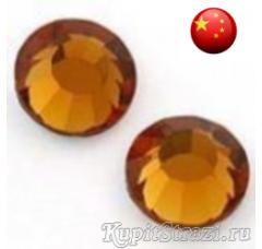 Стразы Topaz ss12 холодной фиксации - стеклянные китайские стразы премиум качества