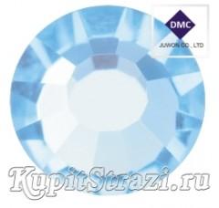 Стразы Aquamarine ss16 - хрустальные корейские стразы премиум качества DMC+ Juwon