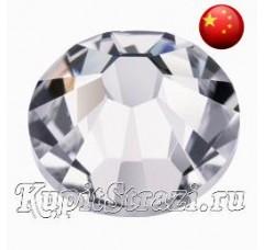 Стразы Crystal ss12 холодной фиксации - стеклянные китайские стразы премиум качества