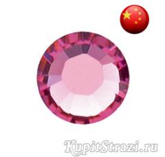 Стразы Rose ss10 холодной фиксации - стеклянные китайские стразы премиум качества