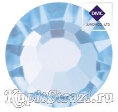 Стразы Light Sapphire ss16 - хрустальные корейские стразы премиум качества DMC+ Juwon