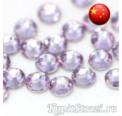 Стразы Violet ss34 холодной фиксации - стеклянные китайские стразы премиум качества