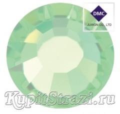 Стразы Light Peridot ss16 - хрустальные корейские стразы премиум качества DMC+ Juwon