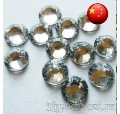 Термостразы Crystal ss6 - стеклянные китайские стразы горячей фиксации премиум качества