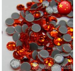 Термостразы Hyacinth ss12 - стеклянные китайские стразы горячей фиксации премиум качества